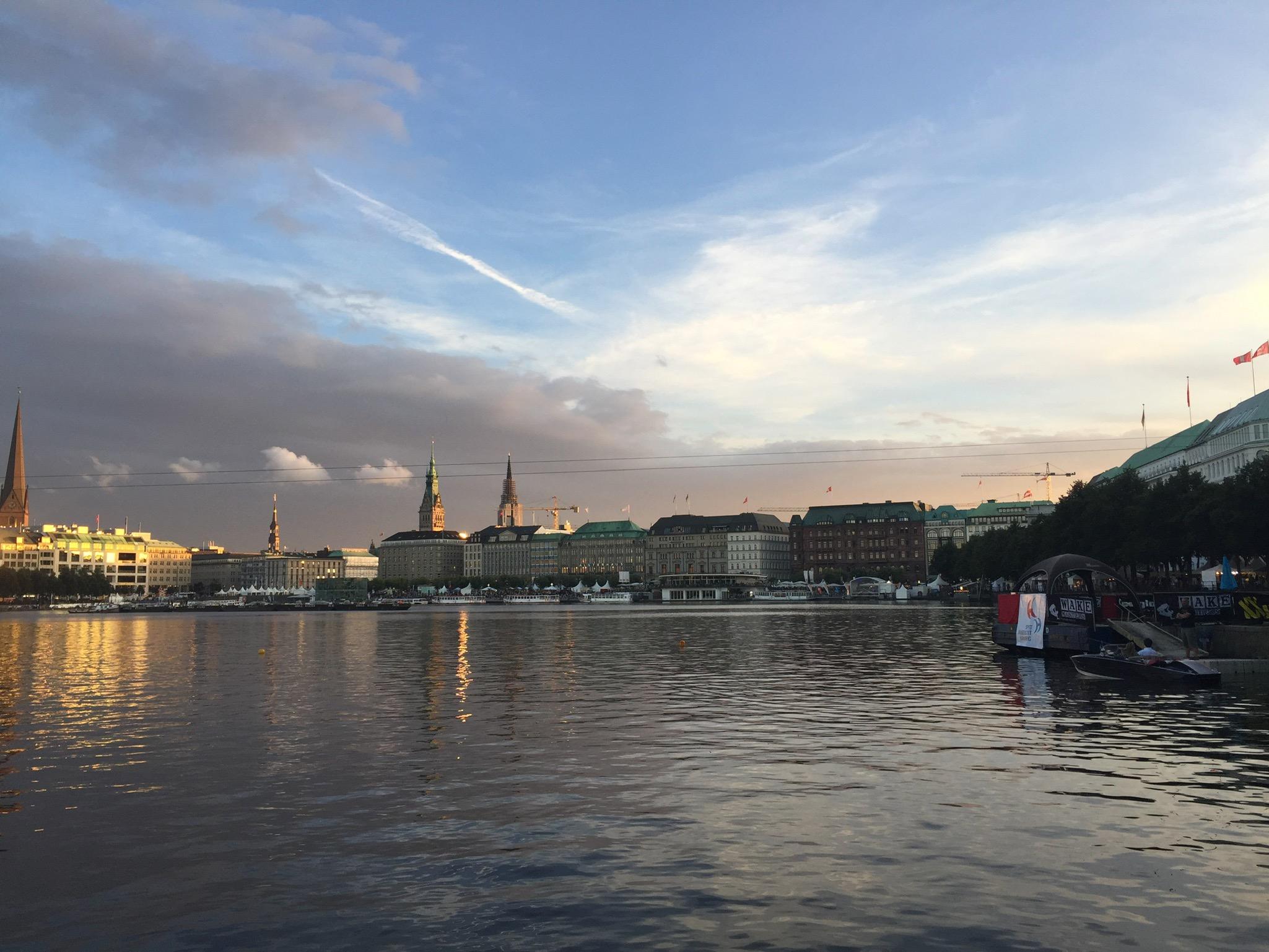 TOURIFIC - Das besondere Stadträtsel in Hamburg - Alster - Jungfernstieg - Rätsel - Spiel