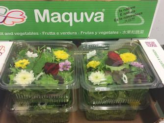 """""""Misticanza fiorita"""" l'insalata alla moda"""