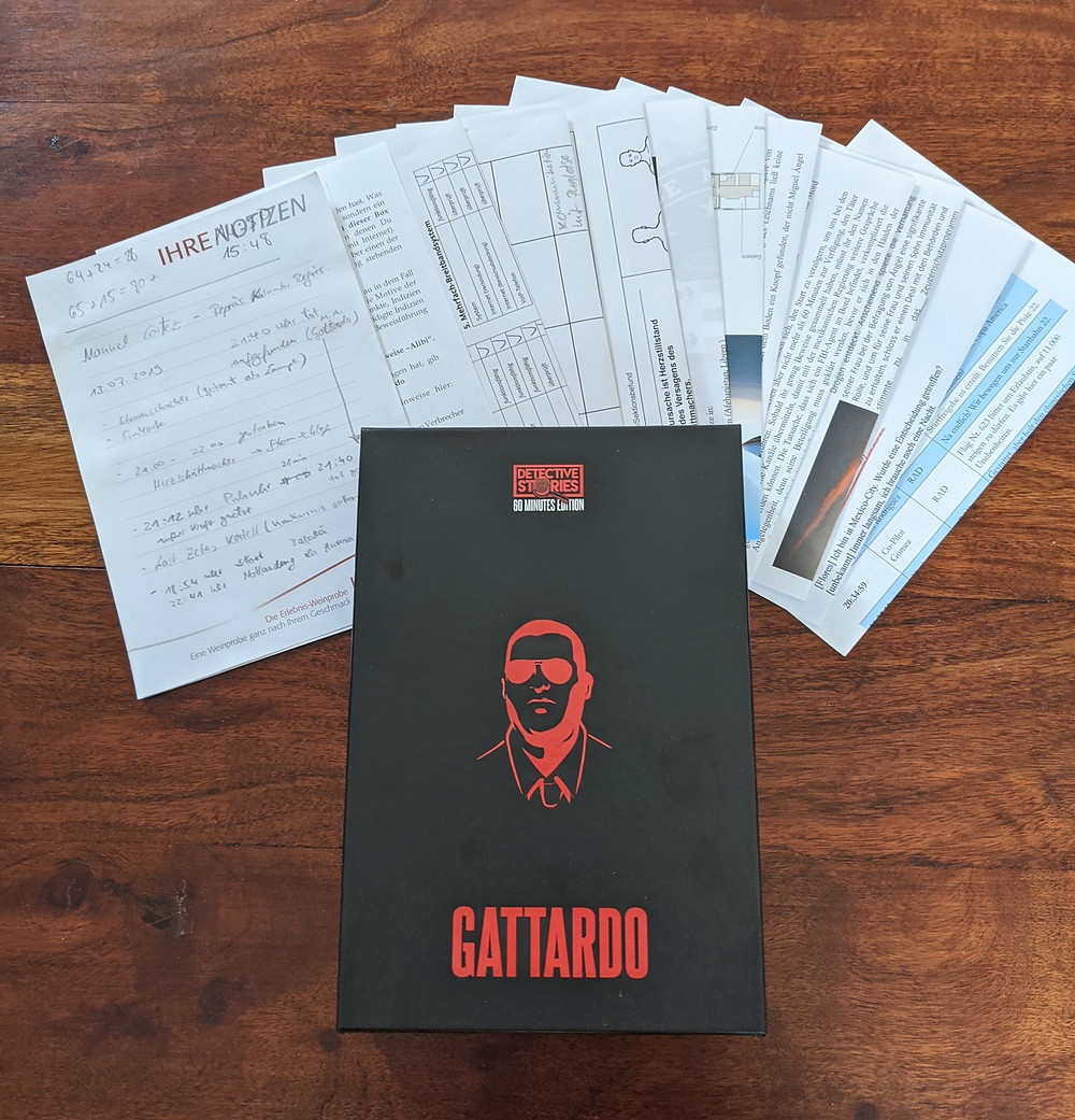 Gattardo iDventure Detective Stories Rätsel Spiel