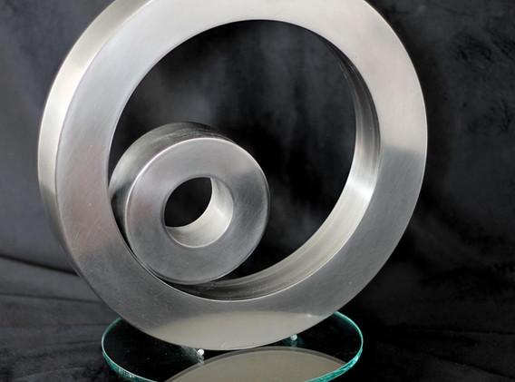 CEDAR LILY - STEEL ON GLASS