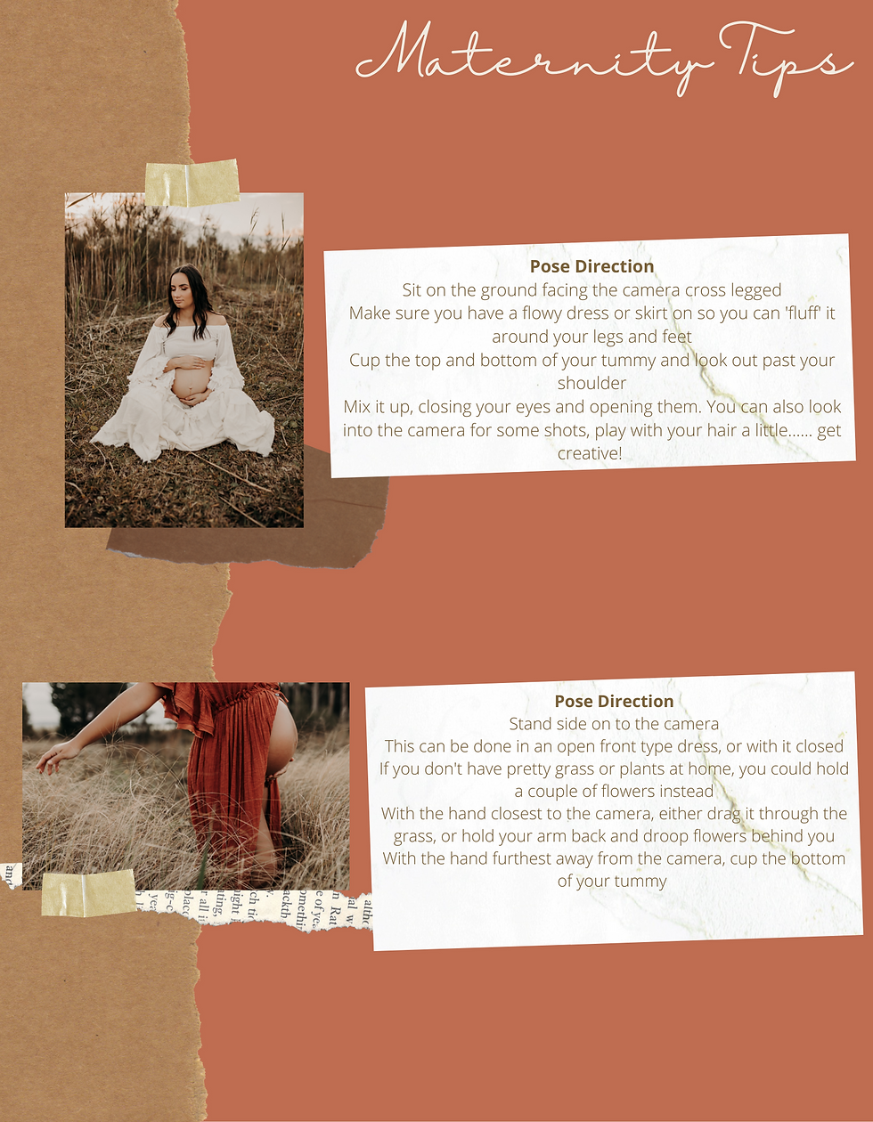 Brown and Coral Rugged Scrapbook Family Father's Day Photo Book-4.png