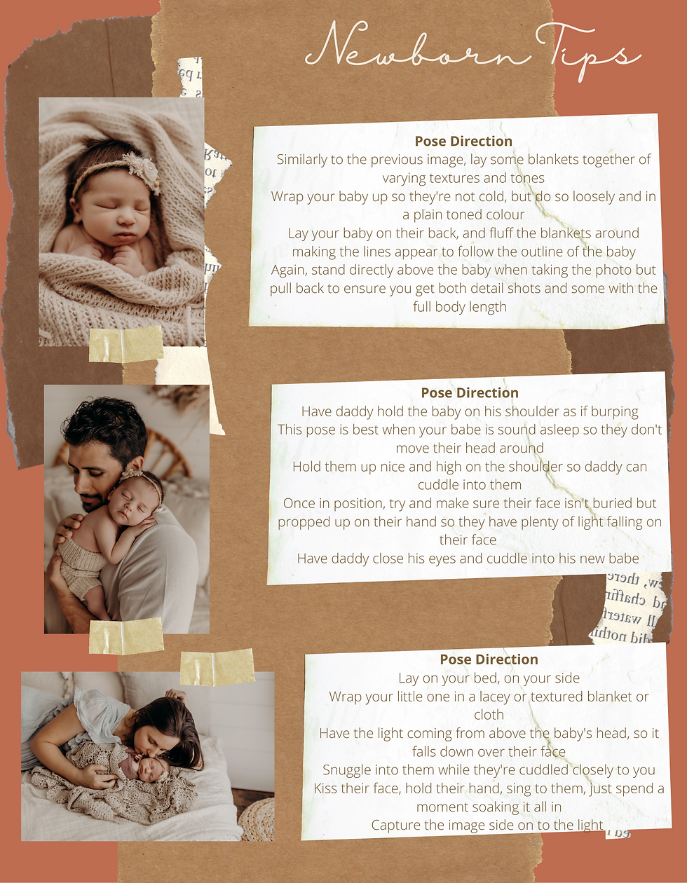 Brown and Coral Rugged Scrapbook Family Father's Day Photo Book-5.png
