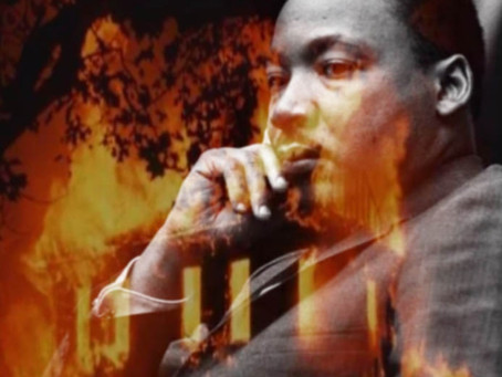 Martin Luther King Day - A Burning House
