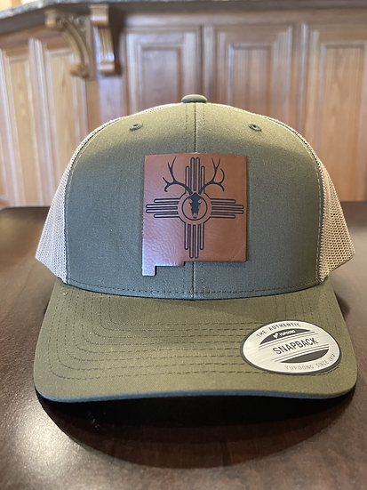 New Mexico Outdoorsman Patch Hat