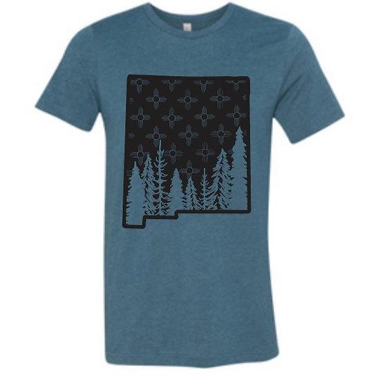 New Mexico Bella Canvas CVC Unisex T-Shirt