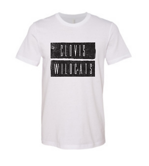 Clovis Wildcat Bella Canvas CVC Unisex
