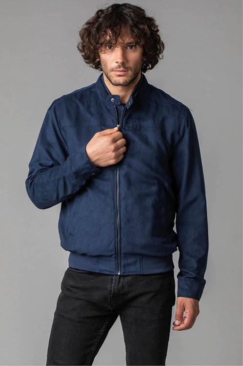 Bomber in suede ecologico