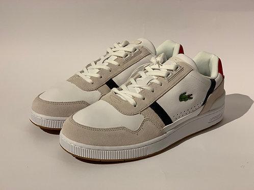 Sneakers da uomo in pelle scamosciata e pelle tricolore T-Clip