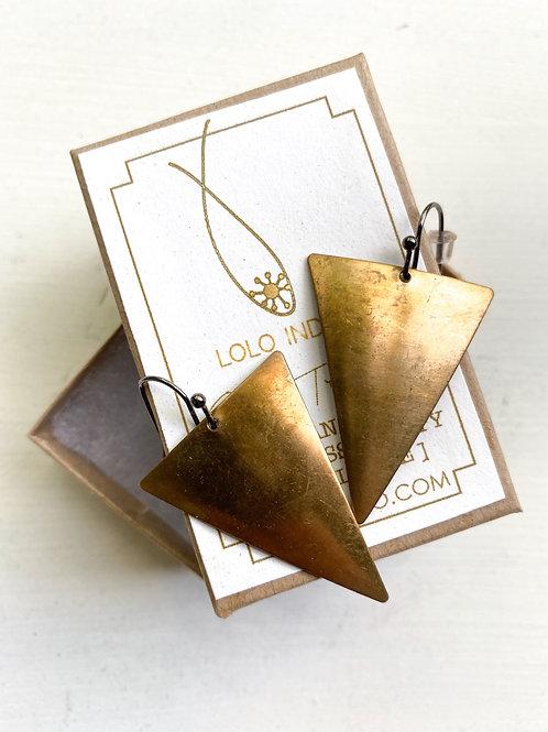 Arrowhead Trinity Earrings