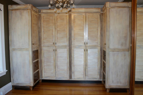 Hand Painted Wardrobe
