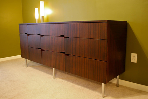 Zebrawood Dresser