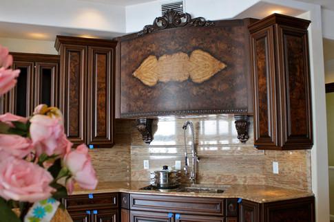 Walnut Burl Cabinets