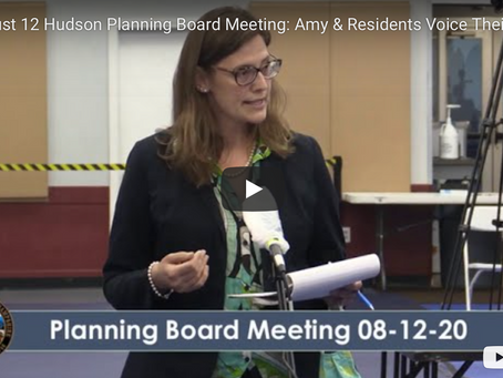 Amy Manzelli & Residents Voice Their Concerns
