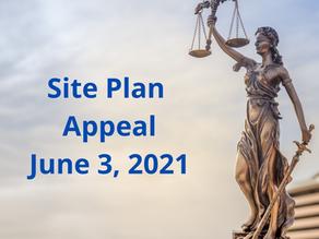 Site Plan Appeal