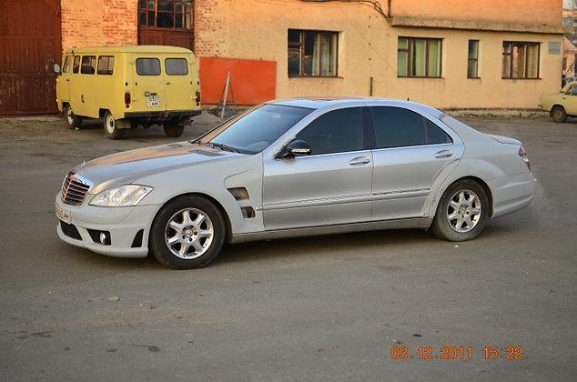 Conversion kit Mercedes W 220 to Mercedes W-221 AMG 6.3