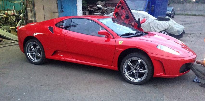 Сделать Ferrari f430 на базе Peugeot 406, купить кузовной набор.
