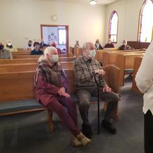 Elders Carol and James Frank