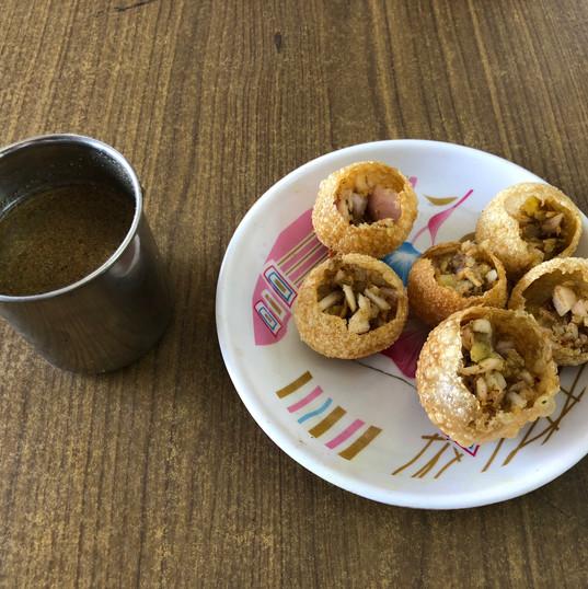 Pani Puri, Indian street food