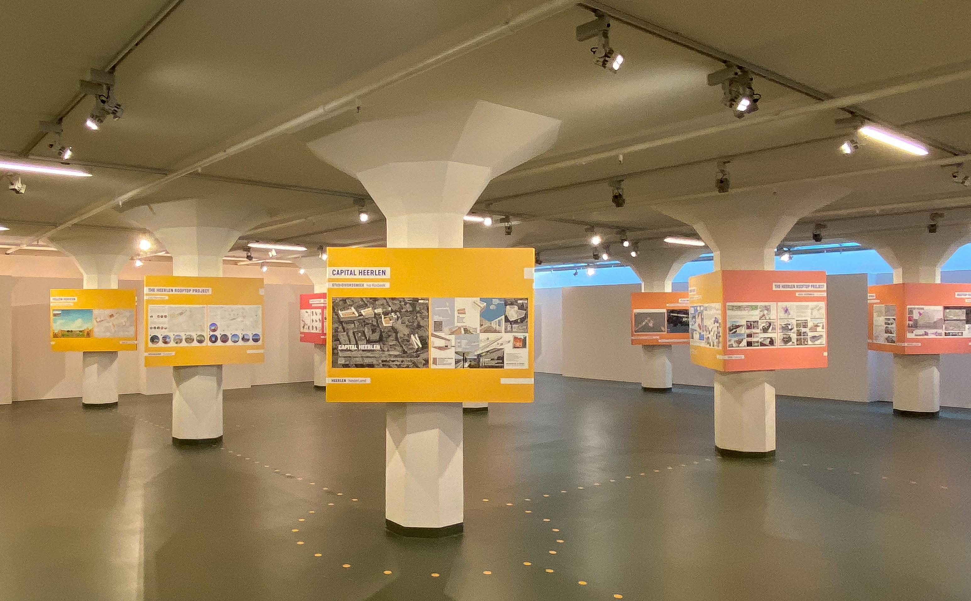 tentoonstelling 'uit je dak' in Schunck Heerlen