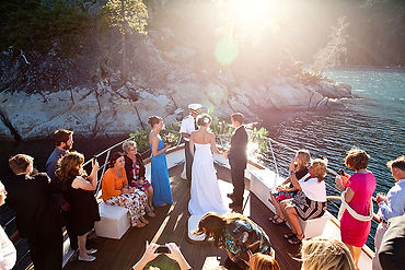 Private Yacht - Lake Tahoe wedding packages