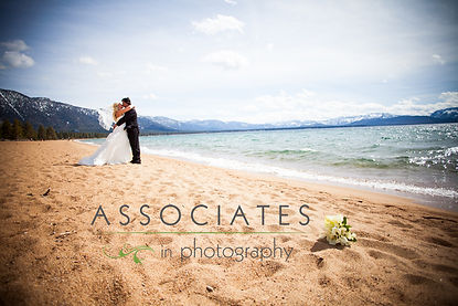Beach Ceremony - Lake Tahoe wedding packages