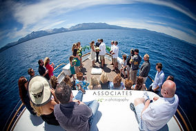 Public cruise - Lake Tahoe wedding packages
