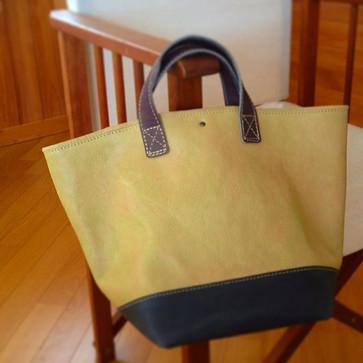 アースカラートート…_おだんご色。__#Leather  #leatherbag
