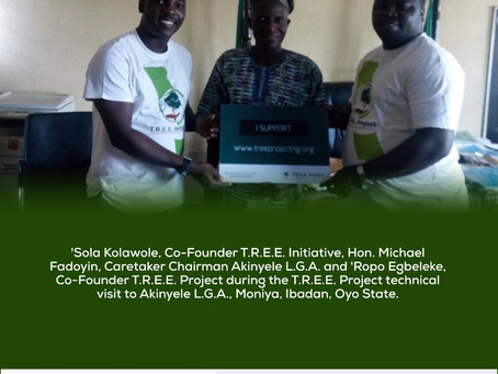 T.R.E.E. Initiative visits Akinyele Local Government in Oyo State