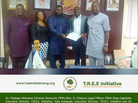T.R.E.E. Initiative Signs MoU with FRIN