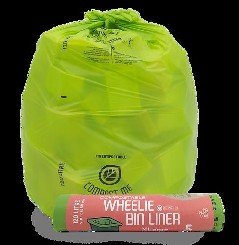 120 Litre, Wheelie Bin Liner / 44g DRUM