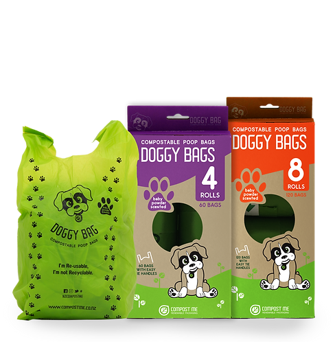 Compostable Doggy Bags 4 & 8 PACK!