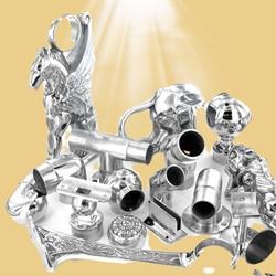 Buy Brass Bar Foot Rail Bar Mount, Floor Mount, Combination Brackets, Elbows, Tubing, Components Har