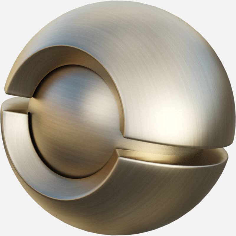 Satin Nickel Door Knob
