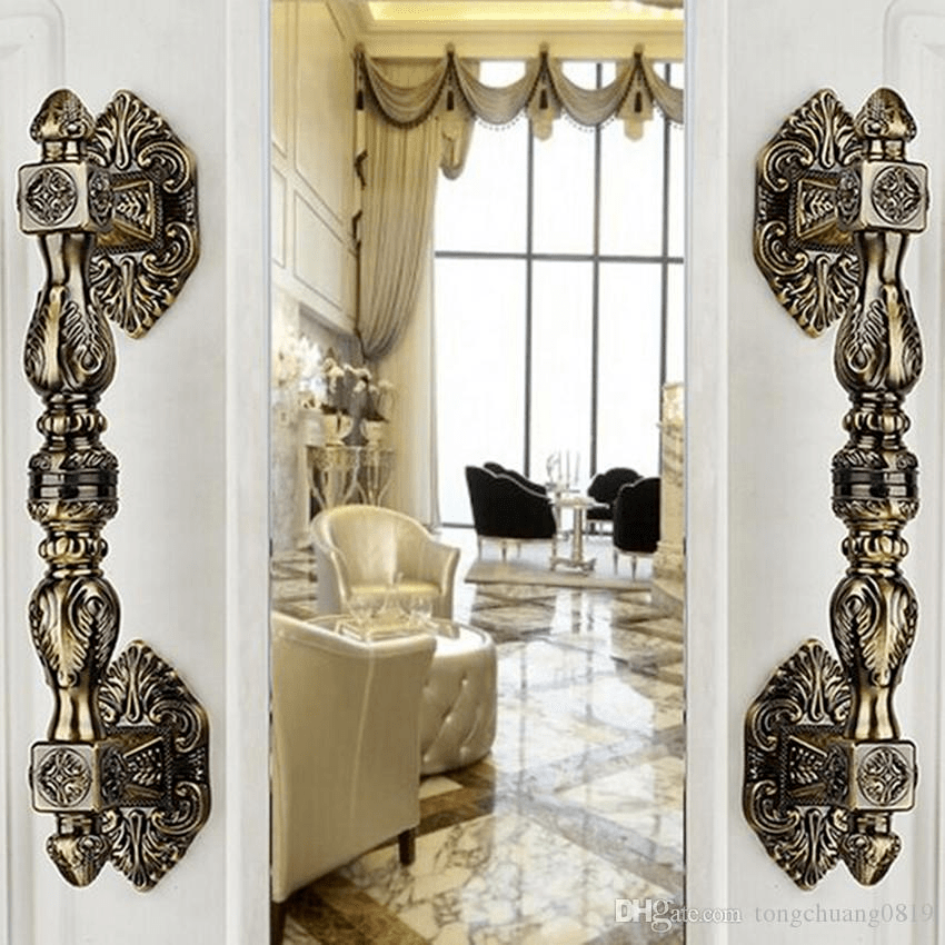 Luxury Brass Italian Pull Door Handles