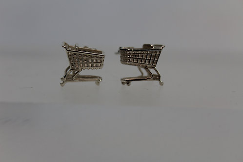 Shopping Cart Post Earrings Go to the new website for more!