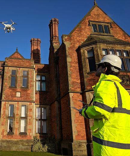 Drone Operator Survying