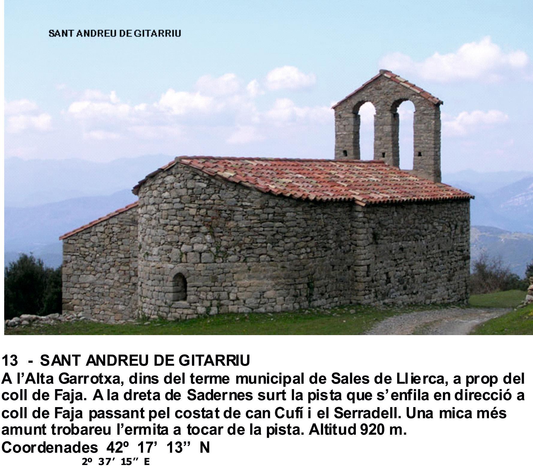 13  -  SANT ANDREU DE GITARRIU