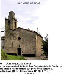 65  -  SANT MIQUEL DE SACOT