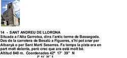 14  -  SANT ANDREU DE LLORONA