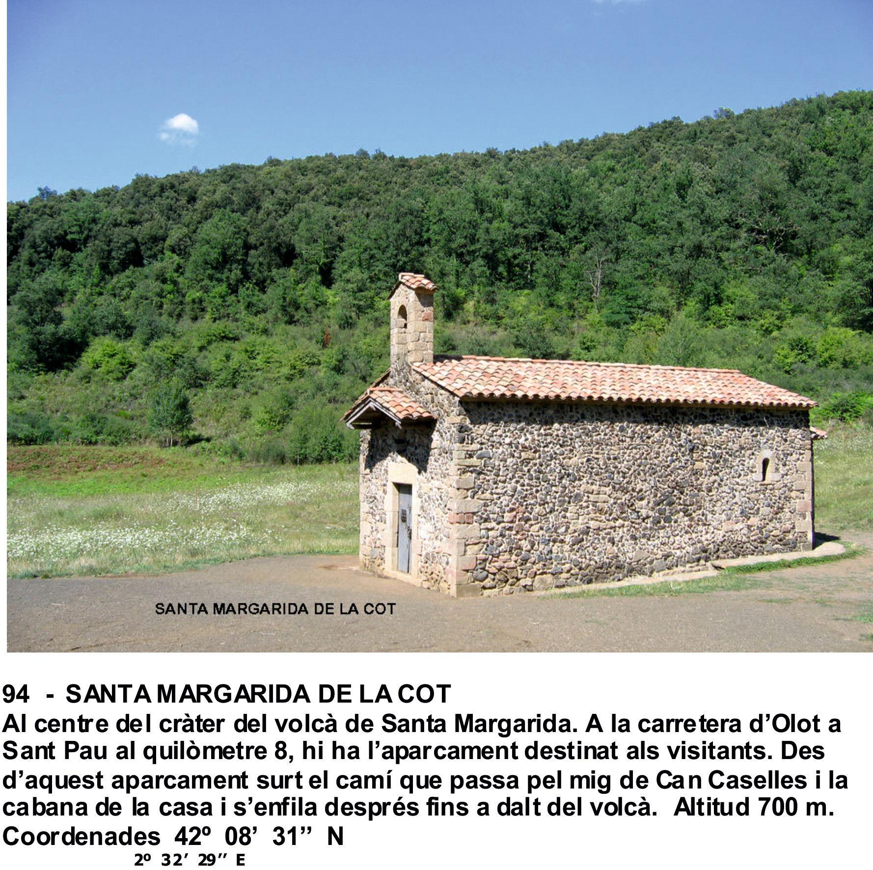 94  -  SANTA MARGARIDA DE LA COT