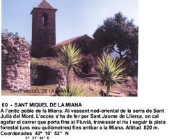 60  -  SANT MIQUEL DE LA MIANA