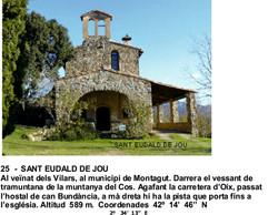 25  -  SANT EUDALD DE JOU