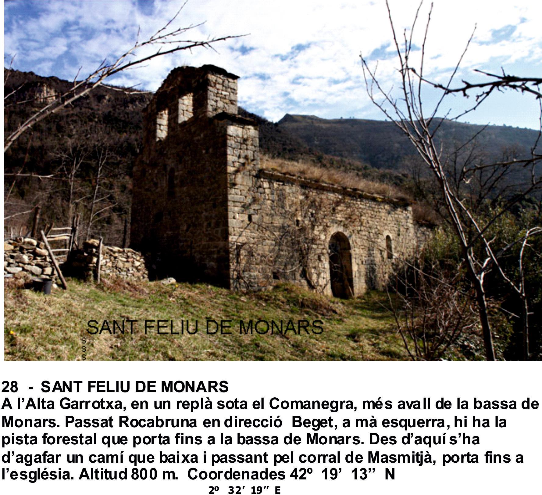 28  -  SANT FELIU DE MONARS