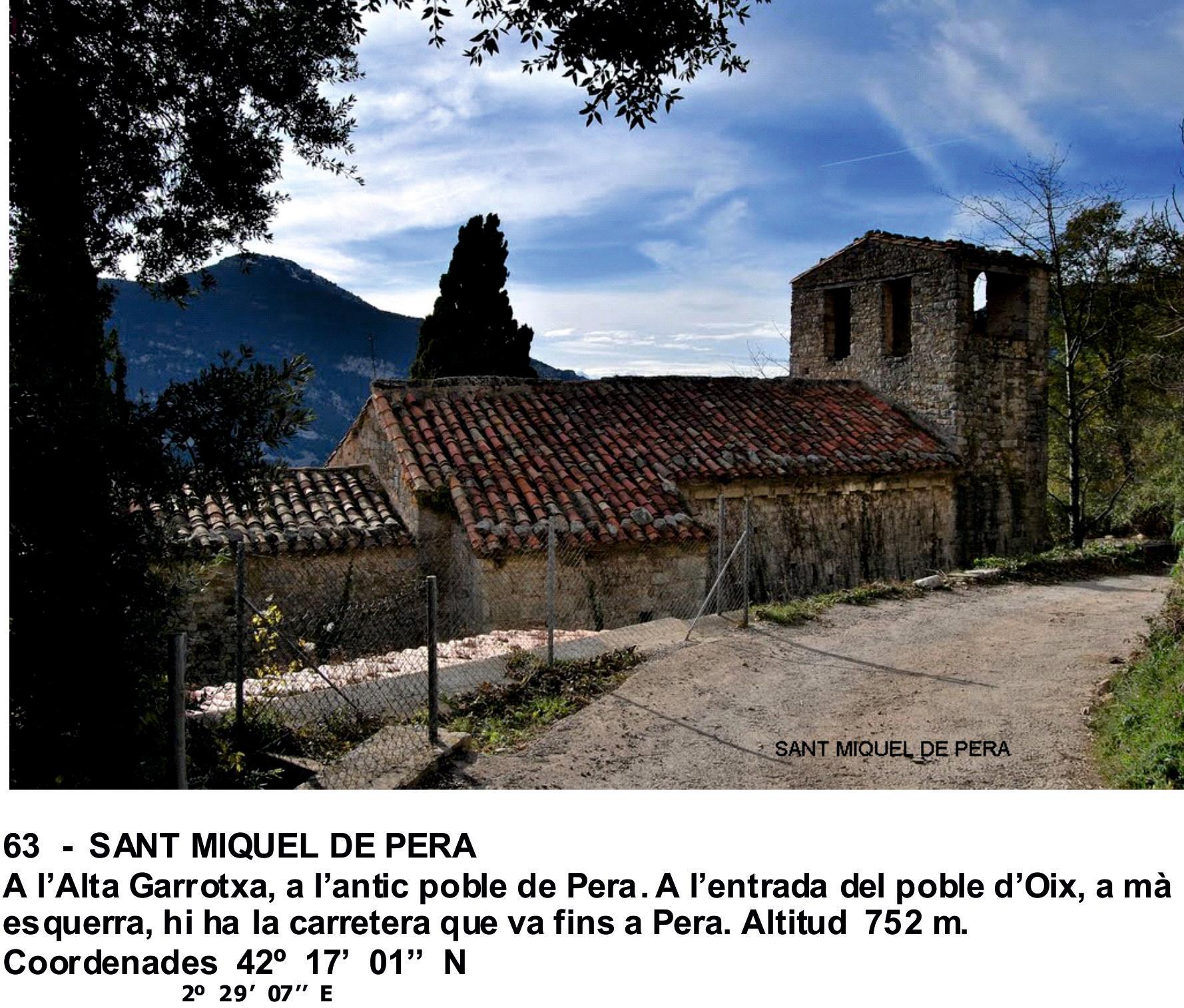 63  -  SANT MIQUEL DE PERA