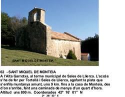 62  - SANT MIQUEL DE MONTEIA