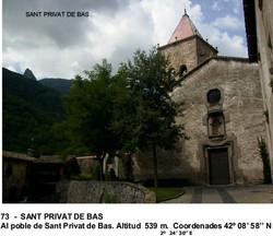 73  -  SANT PRIVAT DE BAS