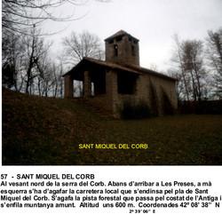 57  -  SANT MIQUEL DEL CORB