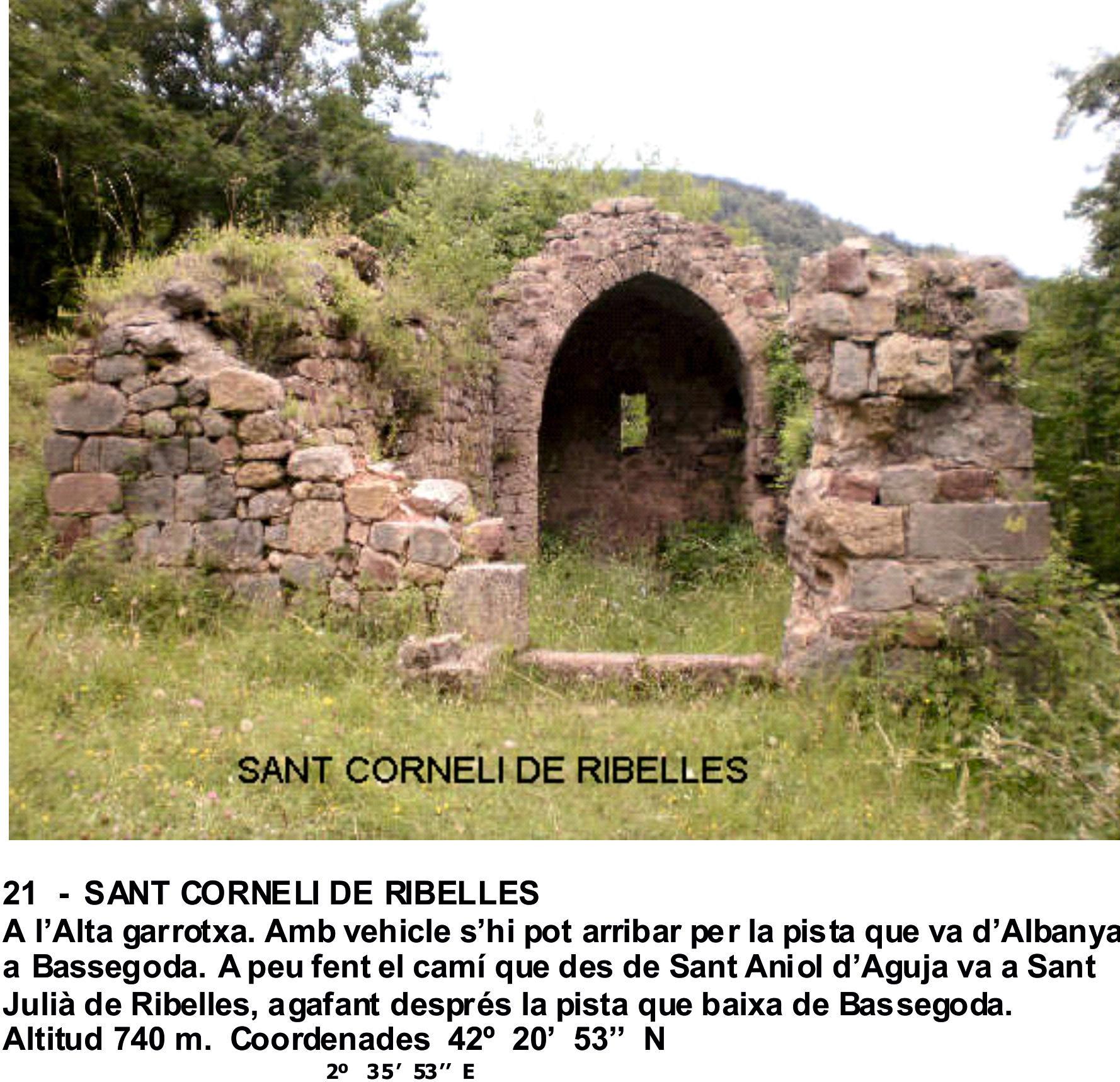 21  -  SANT CORNELI DE RIBELLES