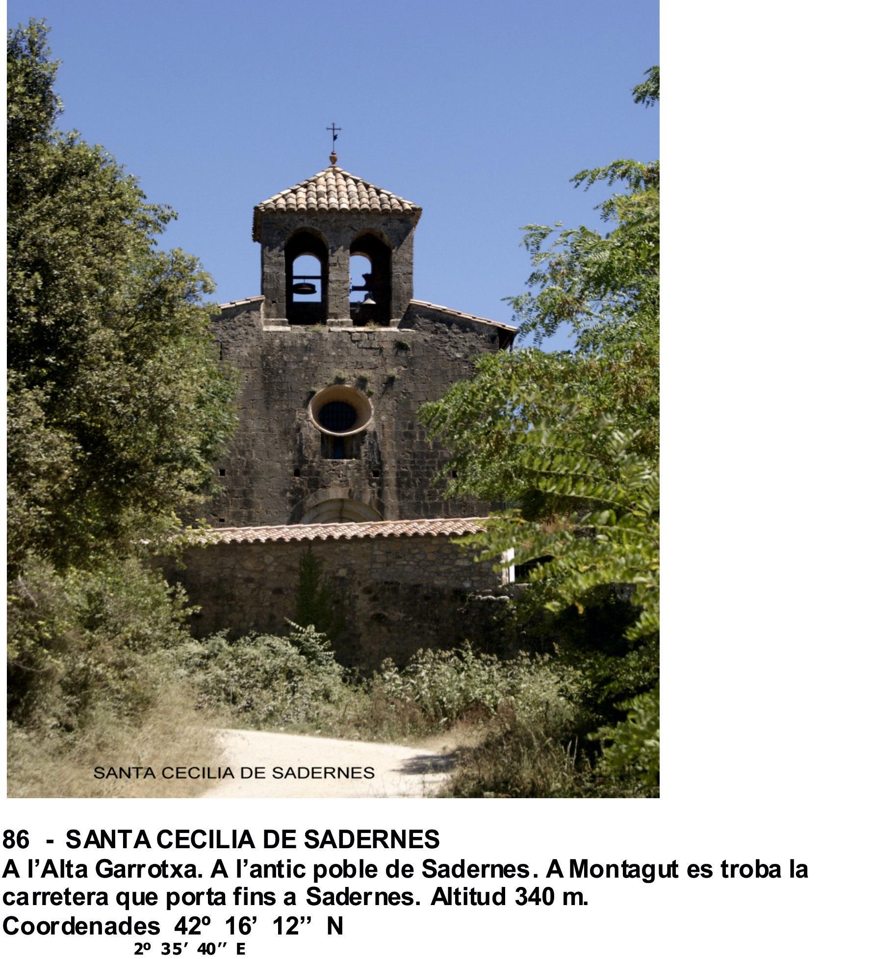 86  -  SANTA CECILIA DE SADERNES