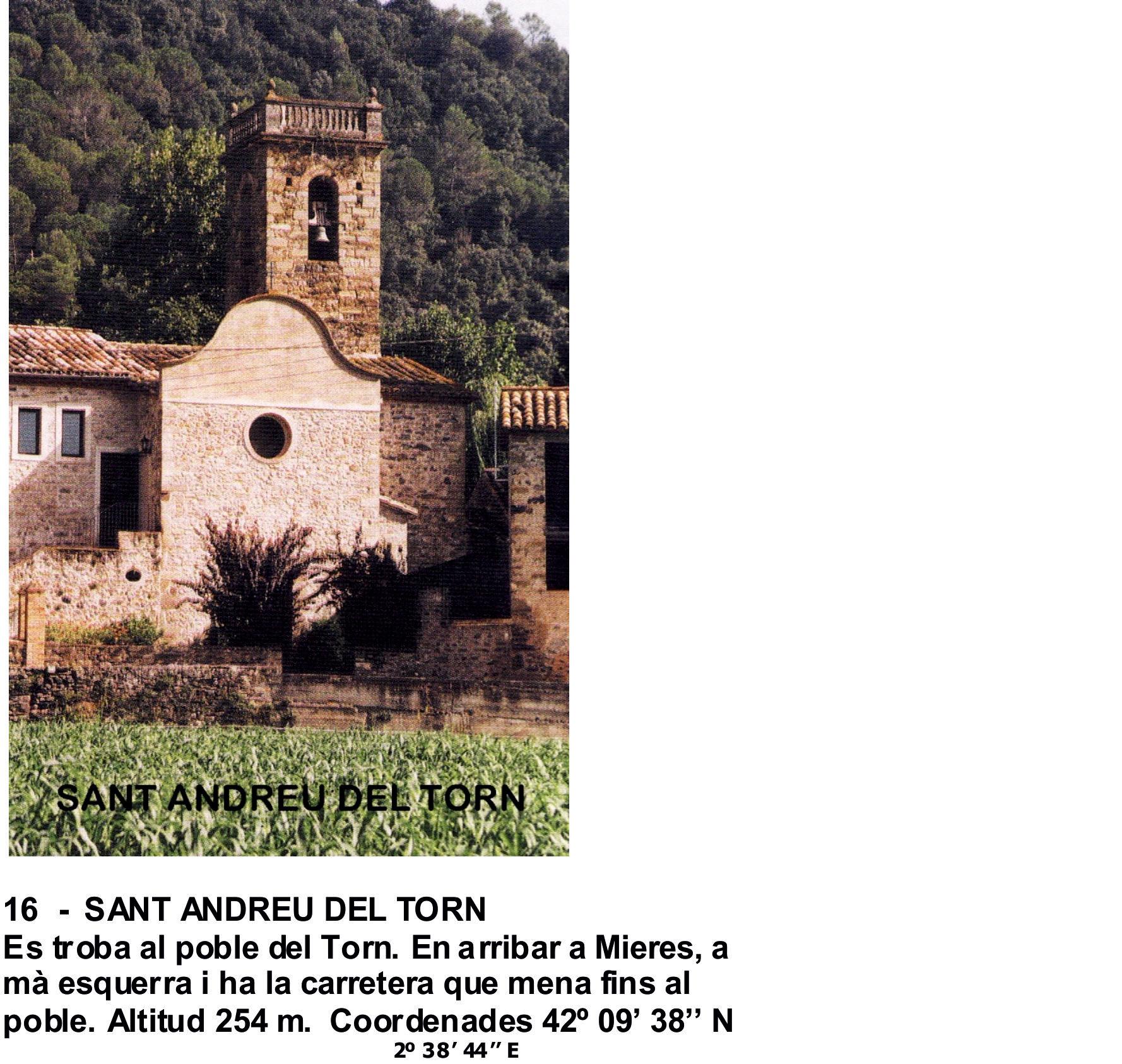 16  -  SANT ANDREU DEL TORN